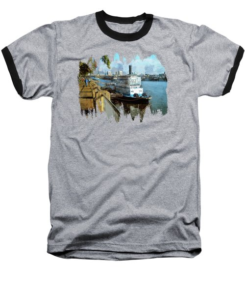 Portland Sunday Walk Baseball T-Shirt
