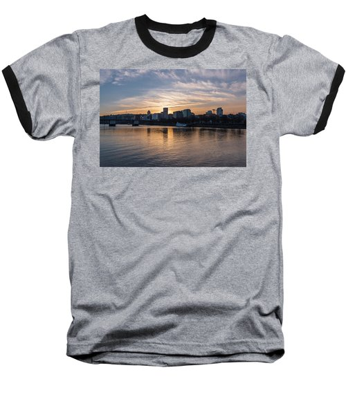 Portland Sunset Baseball T-Shirt