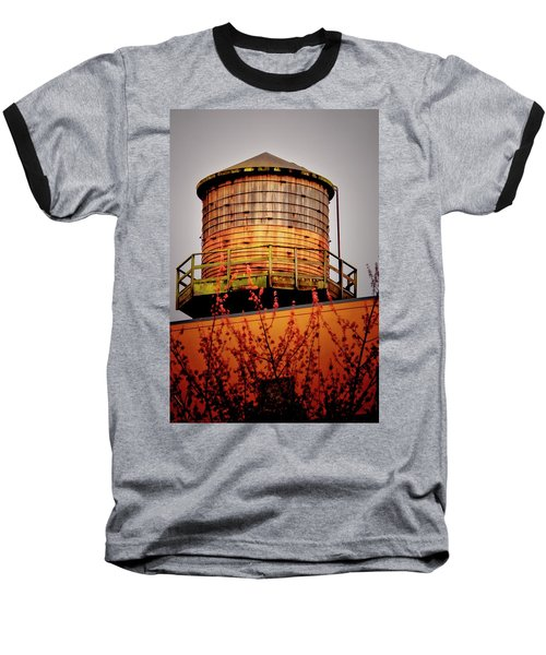 Portland Water Tower IIi Baseball T-Shirt
