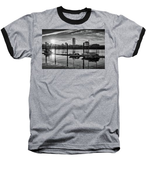 Portland Waterfront  Baseball T-Shirt