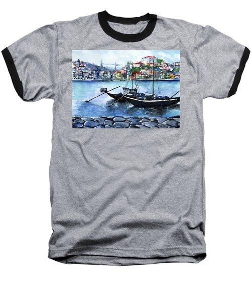 Porto Rabelo Boats Baseball T-Shirt