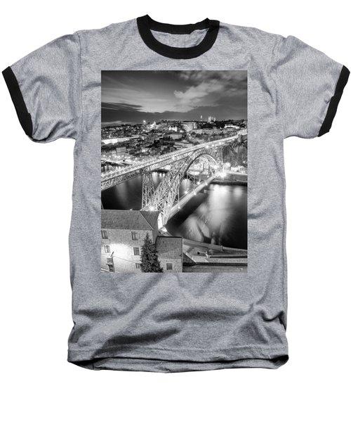 Porto Sao Luis I Bridge Baseball T-Shirt