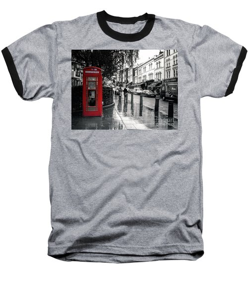 Portobello Road London Baseball T-Shirt