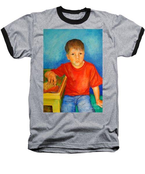 Portrait Andres Baseball T-Shirt