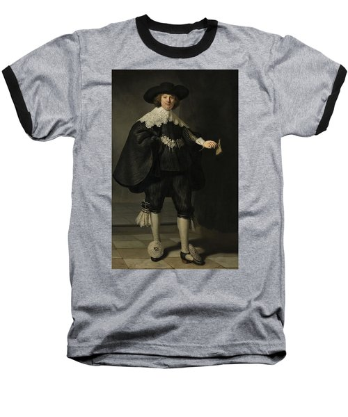 Portrait De Marten Soolmans, 1634 Baseball T-Shirt