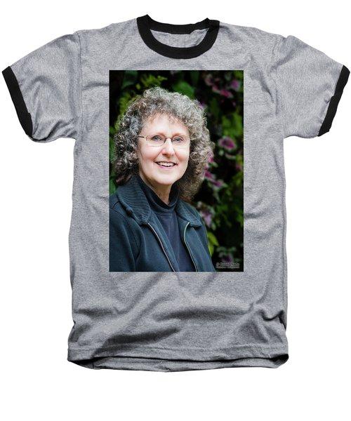 Portrait In The Leaves Baseball T-Shirt