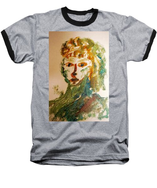 Portrait Of A Girl  Baseball T-Shirt