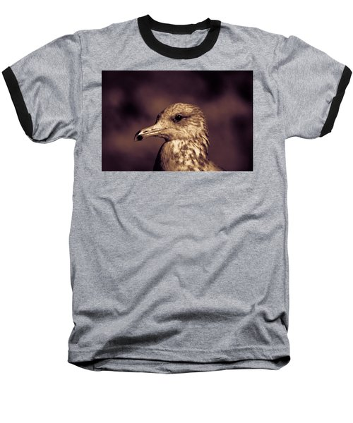 Portrait Of A Gull Baseball T-Shirt