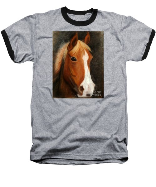 Portrait Of A Horse Baseball T-Shirt