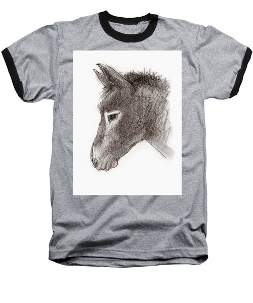Portrait Of A Mule Baseball T-Shirt
