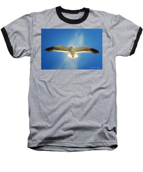 Portrait Of A Seagull Baseball T-Shirt