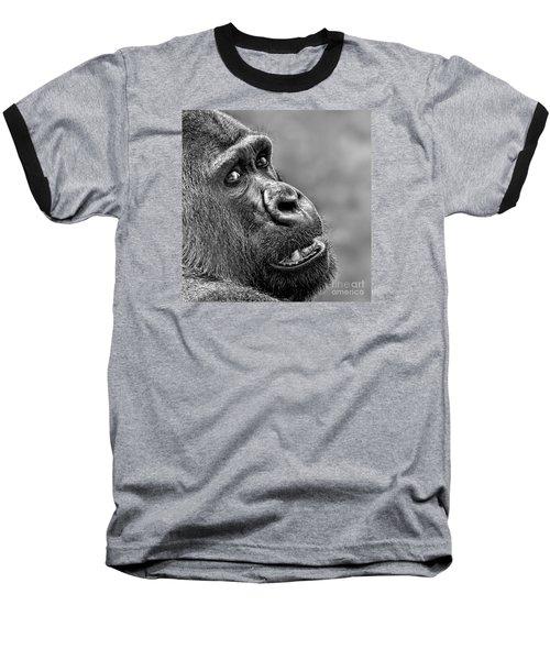 Portrait Of A Silverback Baseball T-Shirt