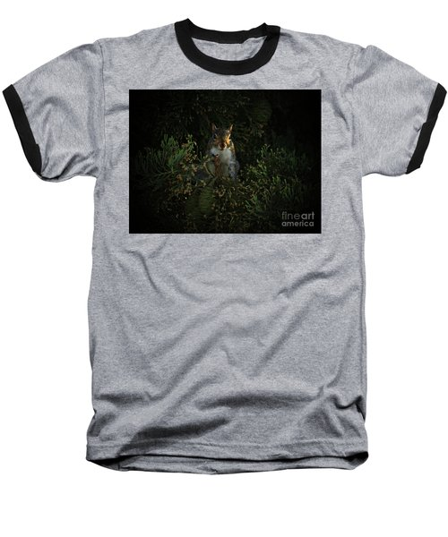 Portrait Of A Squirrel Baseball T-Shirt