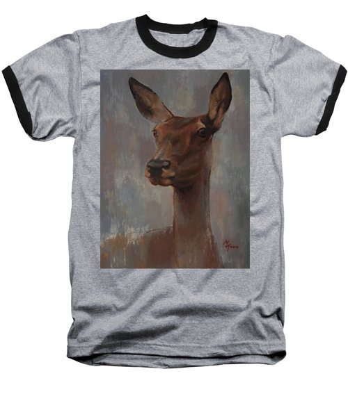 Portrait Of A Young Doe Baseball T-Shirt