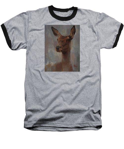 Portrait Of A Young Doe Baseball T-Shirt
