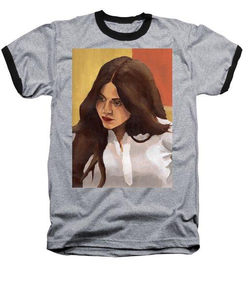 Portrait Of Amelia Baseball T-Shirt
