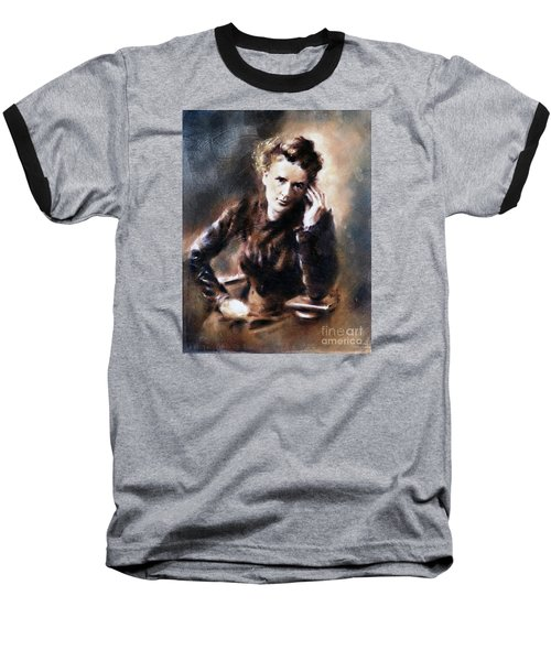 Portrait Of Marie Curie Baseball T-Shirt