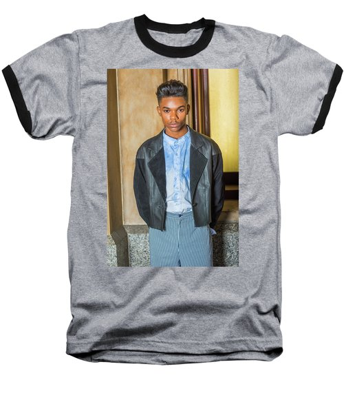 Portrait Of School Boy 15042624 Baseball T-Shirt