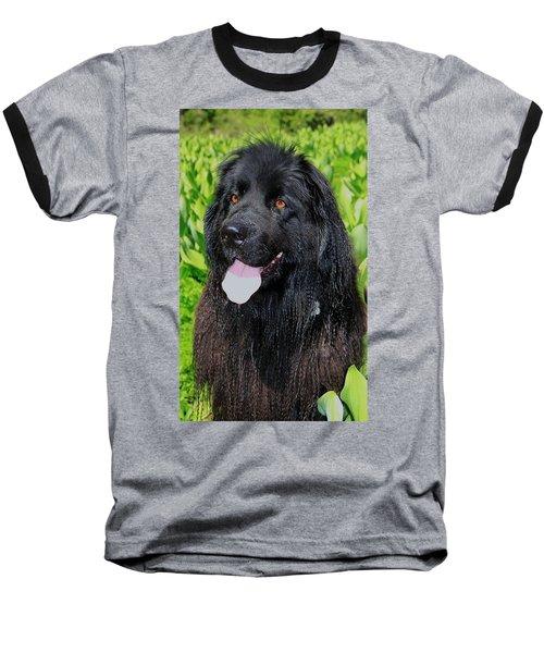 Portrait Of Sierra Baseball T-Shirt