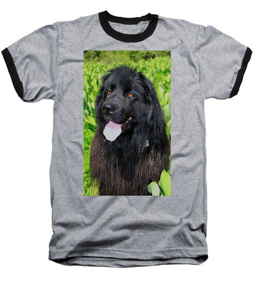 Portrait Of Sierra Baseball T-Shirt