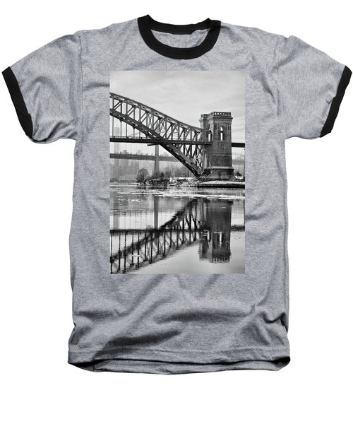 Portrait Of The Hellgate Baseball T-Shirt