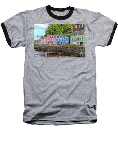 Portree Town On Skye, Scotland Baseball T-Shirt