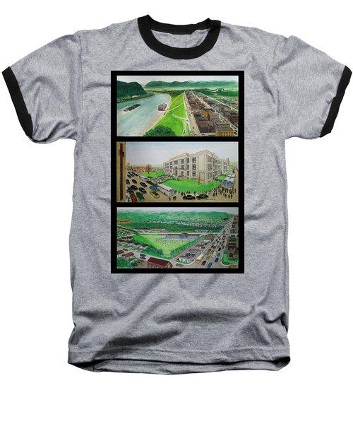 Portsmouth Ohio 1955 Baseball T-Shirt by Frank Hunter