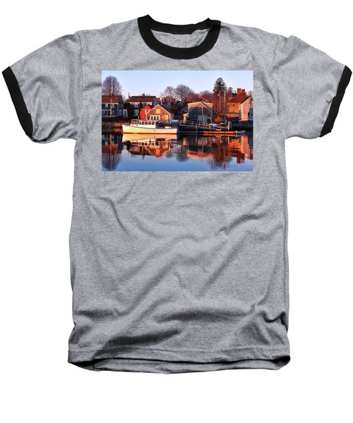 Portsmouth South End Sunrise Baseball T-Shirt