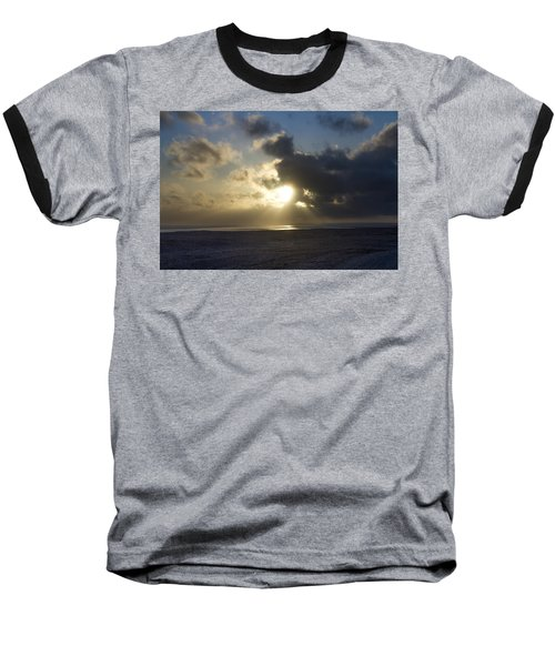 Poseidon Embellished By The Sun Baseball T-Shirt