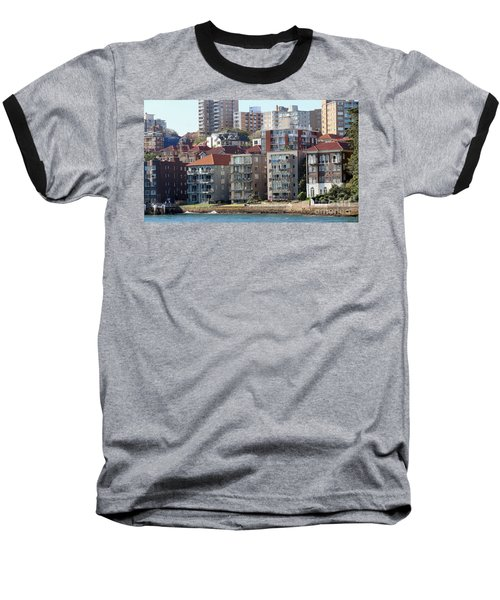 Baseball T-Shirt featuring the photograph Posh Burbs by Stephen Mitchell