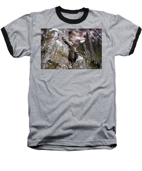 Baseball T-Shirt featuring the photograph Posing #2 by Jeff Severson