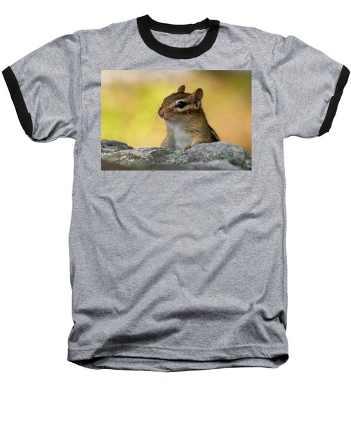 Posing Chipmunk Baseball T-Shirt