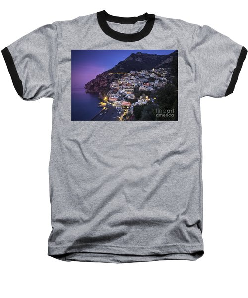 Positano Twilight Baseball T-Shirt
