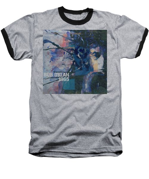 Baseball T-Shirt featuring the painting Positively 4th Street by Paul Lovering