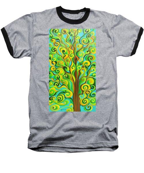 Positronic Spirit Tree Baseball T-Shirt