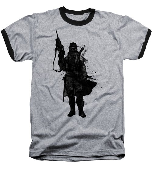 Baseball T-Shirt featuring the digital art Post Apocalyptic Warrior by Nicklas Gustafsson