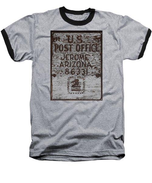Post Office Jerome - Arizona Baseball T-Shirt