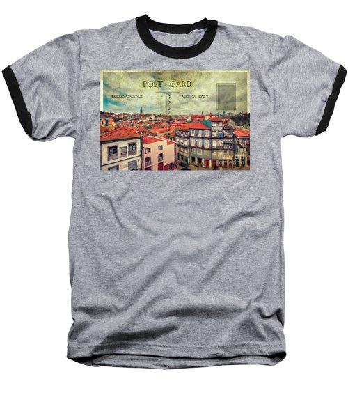 postcard of Porto Baseball T-Shirt
