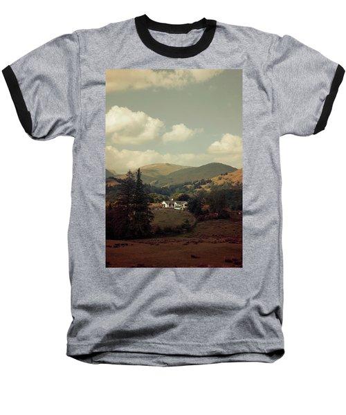 Postcards From Scotland Baseball T-Shirt by Jaroslaw Blaminsky