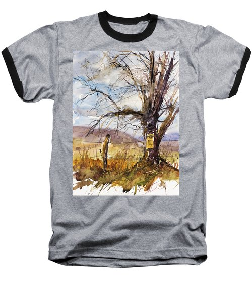 Posted Baseball T-Shirt by Judith Levins