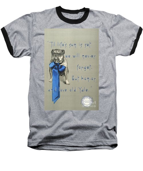 Poster - Yale Bulldog Baseball T-Shirt