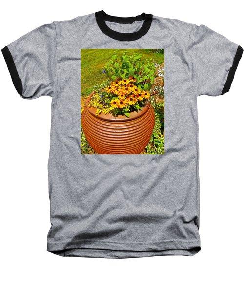 Pot O' Gold Baseball T-Shirt by Randy Rosenberger
