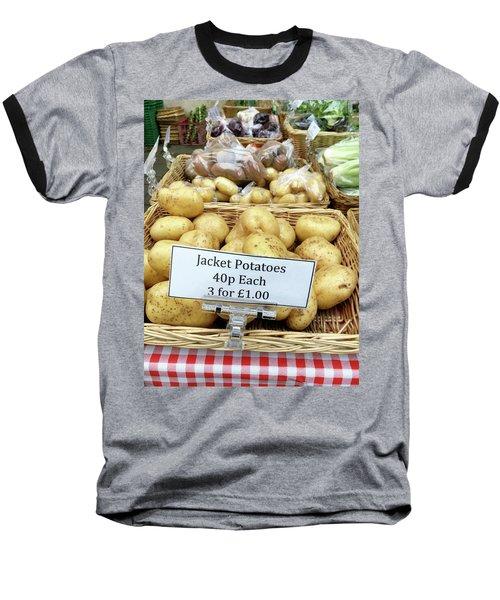 Potatoes At The Market  Baseball T-Shirt