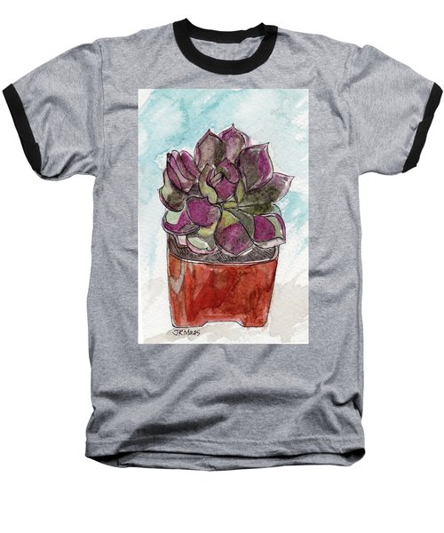 Potted Cactus Baseball T-Shirt