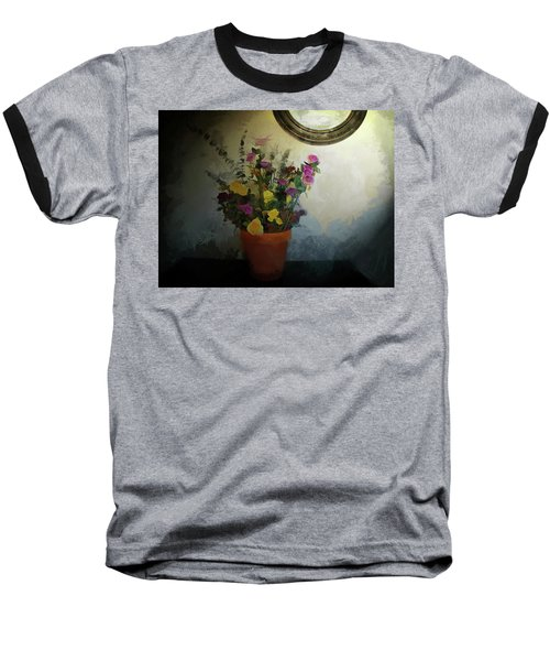 Potted Flowers 2 Baseball T-Shirt