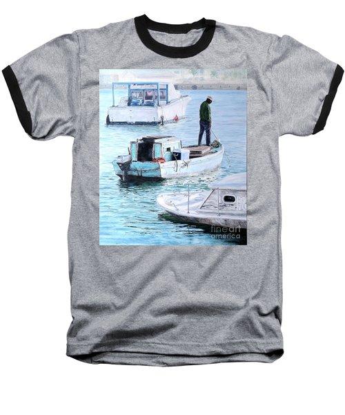 Potter's Cay Blues Baseball T-Shirt