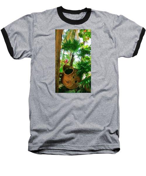 Pottery Ambergris Caye Belize Baseball T-Shirt
