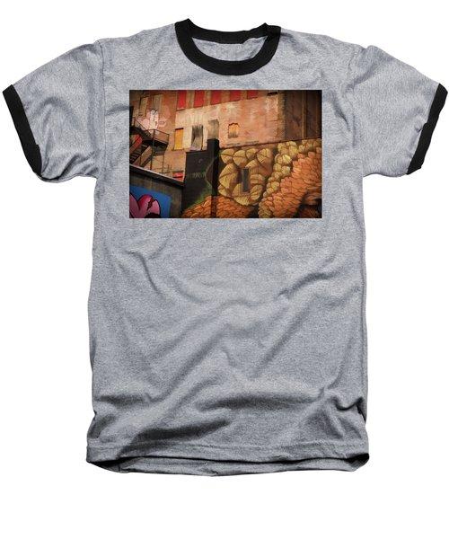 Poughkeepsie Street Art Baseball T-Shirt