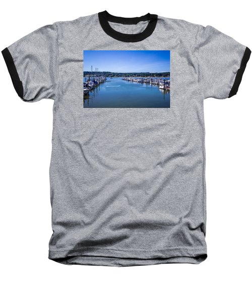 Poulsbo Marina Baseball T-Shirt
