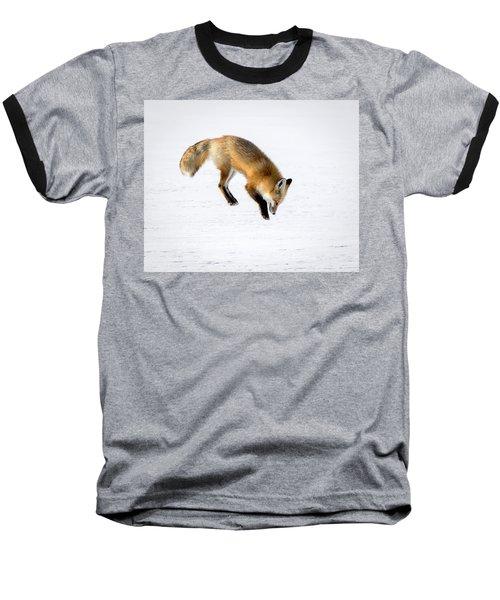 Pounce Baseball T-Shirt by Jack Bell